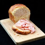 Pan brioche con lievito madre./ Brioche bread with sourdough.