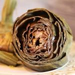Carciofi in umido/ Stewed artichokes