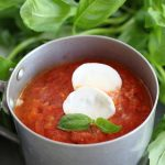 Zuppa di pomodori arrostiti/ Roasted tomato soup.
