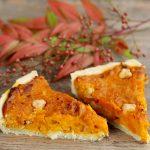 Crostata salata alla zucca/ Savoury pumpkin pie.