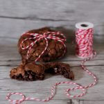 Chewy chocolate & coffee cookies.