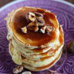 Sweet pumpkin pancakes.