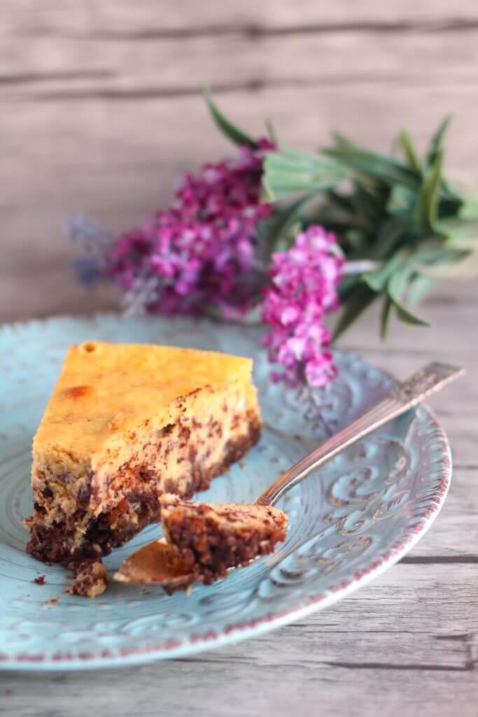 Cheese-cake marmorizzato.