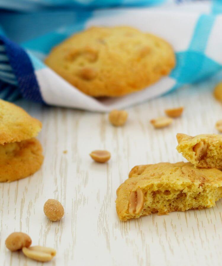 Biscotti alle arachidi salate.