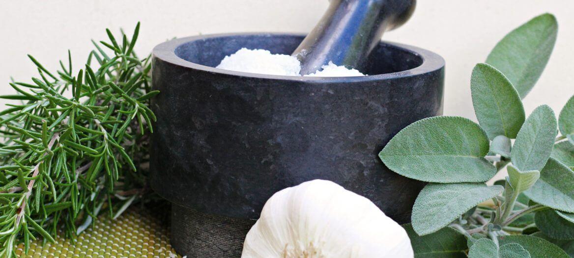 Ajon o salamoia bolognese/ Herbal salt Bolognese style.