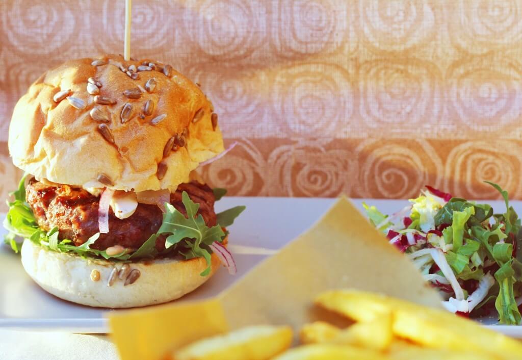 lard burger