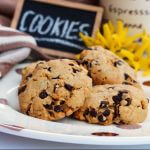 Cookies con esubero di lievito madre.