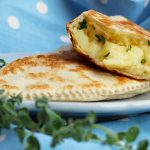 "Cassoni ""francesi""./ French piadina bread turnovers."
