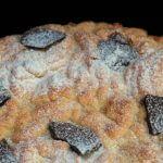 Torta di ricotta sbriciolata/ Ricotta cheese crumbled cake.
