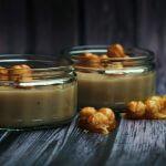 Budino vegano alle nocciole/ Hazelnut vegan pudding.