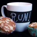 Tortine proteiche avena e cioccolato / Protein oat and chocolate mini cakes.
