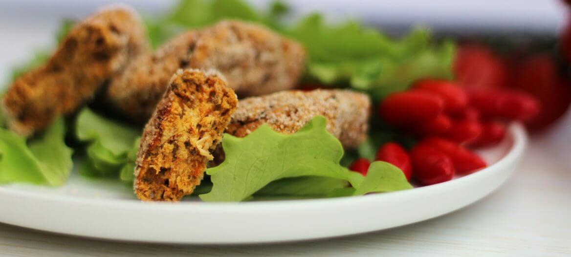 Crocchette vegan ceci e carote/ Vegan chickpeas & carrots patties.