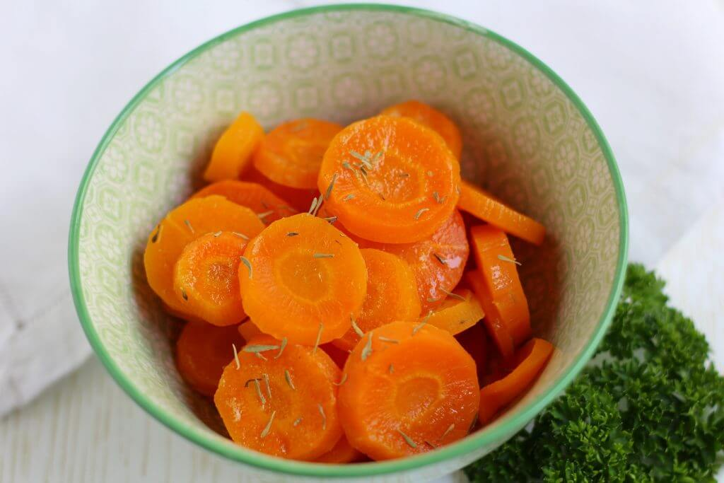 Carote all'acqua gassata/ Sparkling water carrots.
