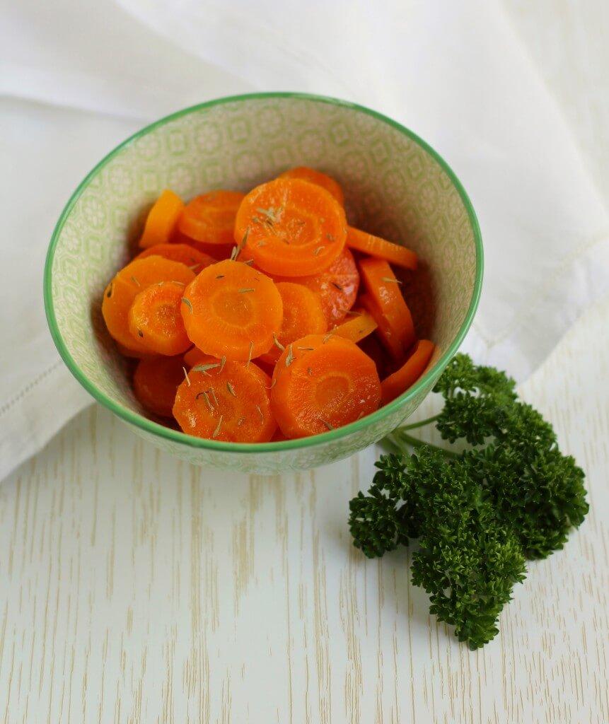 Carote all'acqua gassata/ Sparkling water carrots.