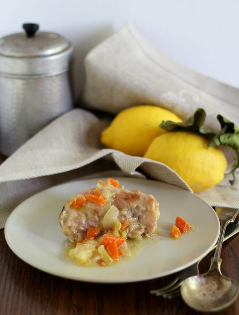 Pollo al limone della nonna. / My grandma's lemon chicken.