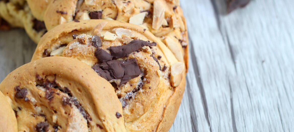 Corona di cioccolato.
