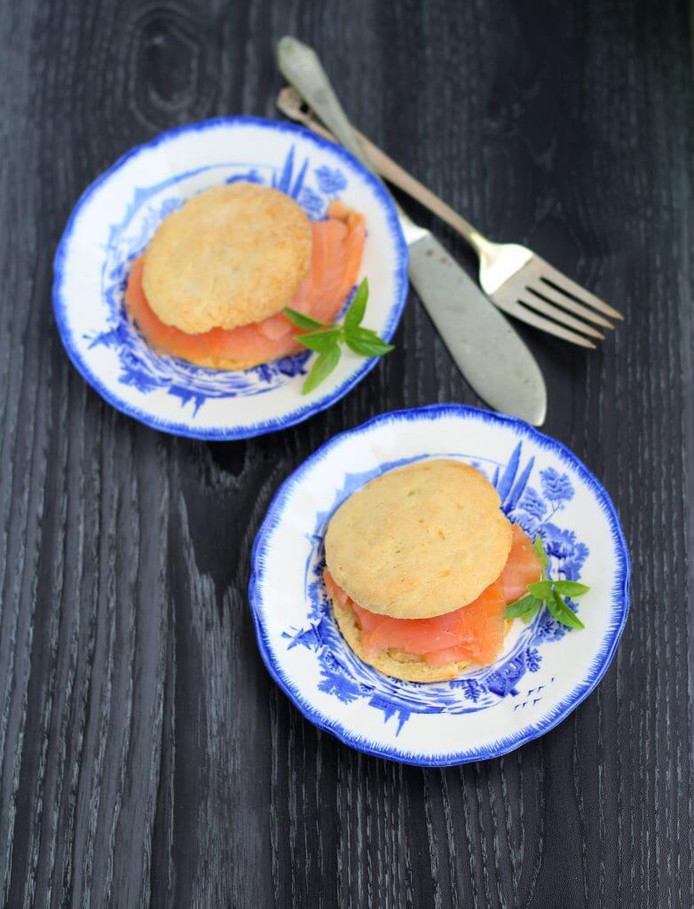 Scones con patate/ Potato scones.