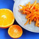 Carote all'arancia.