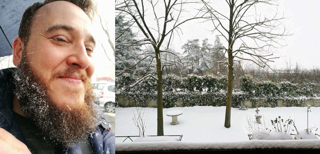 nevicata febbraio 2018