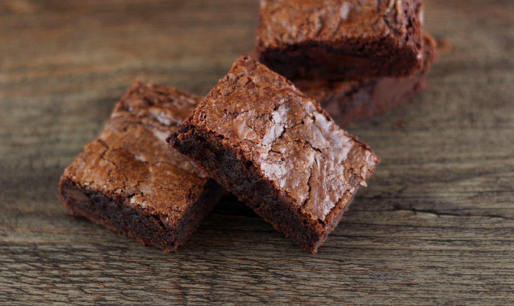 Brownie al cioccolato.