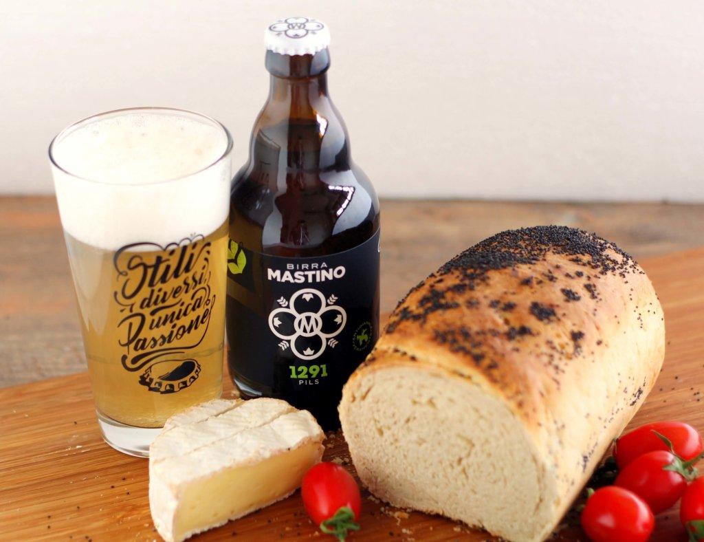 Beer sandwich bread.