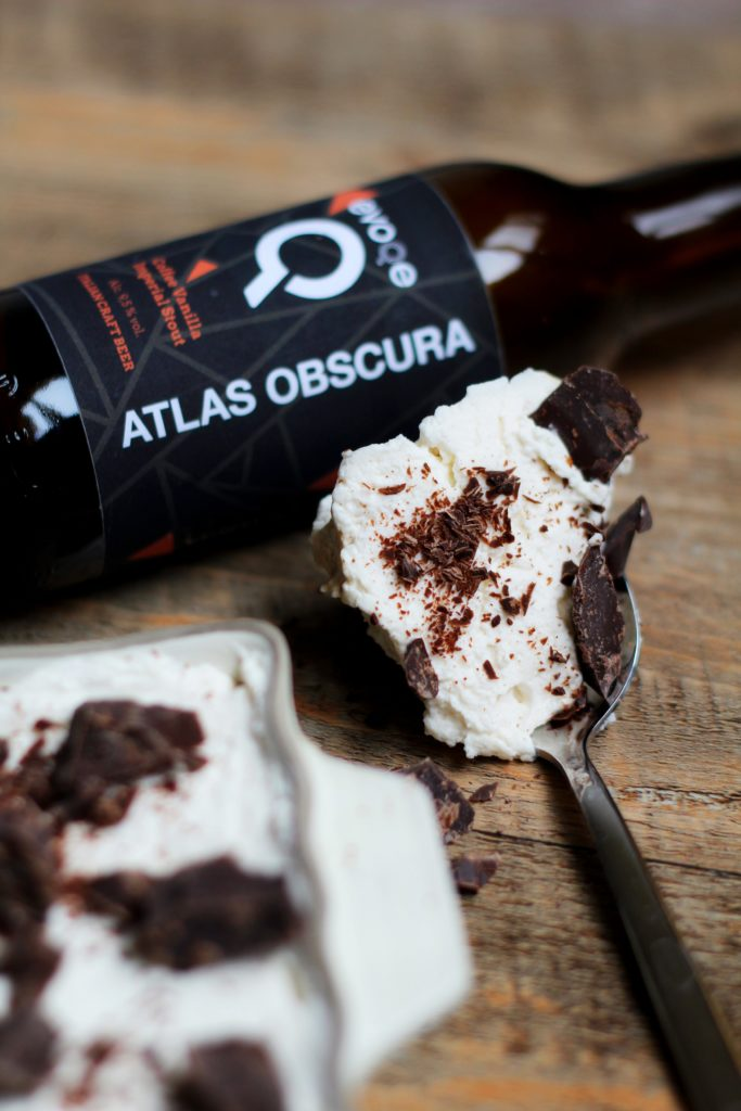 Birramisù all' Imperial Stout.