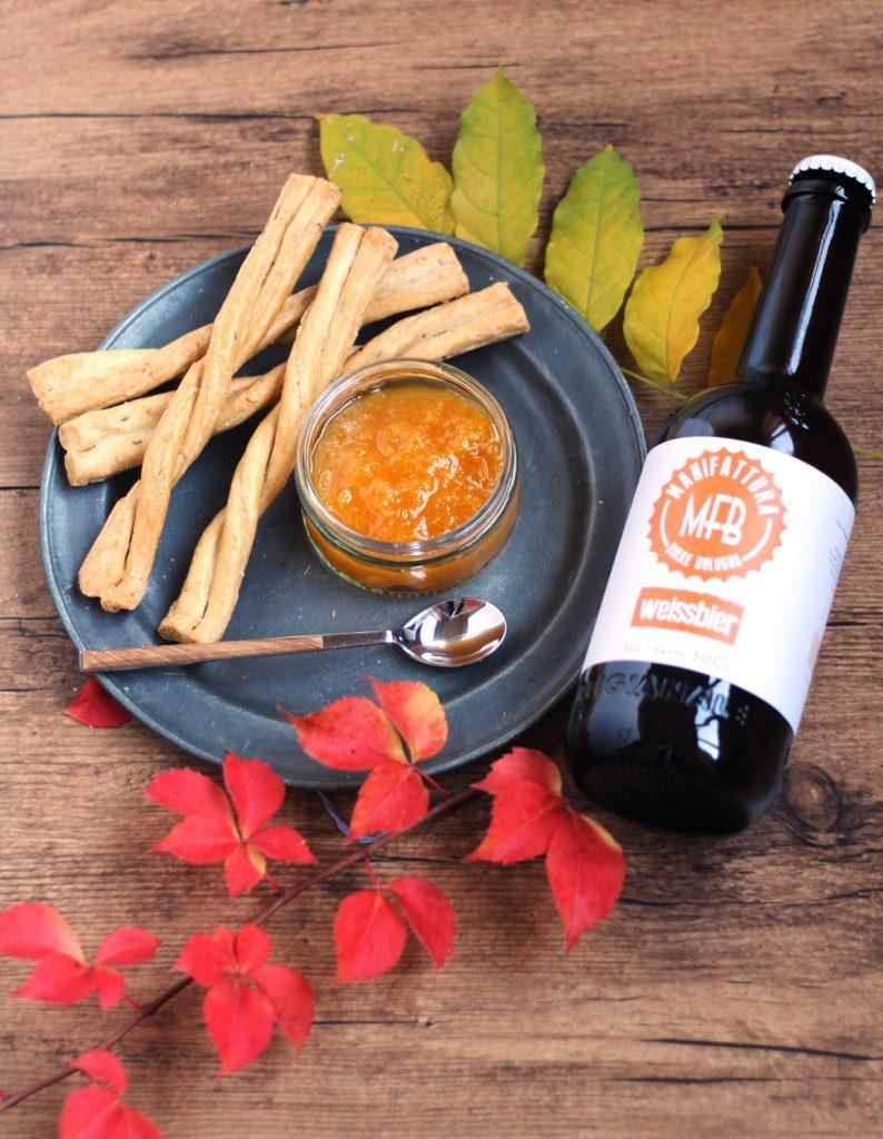 Weissbier orange marmalade.