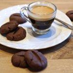 Biscotti semplici al caffè.