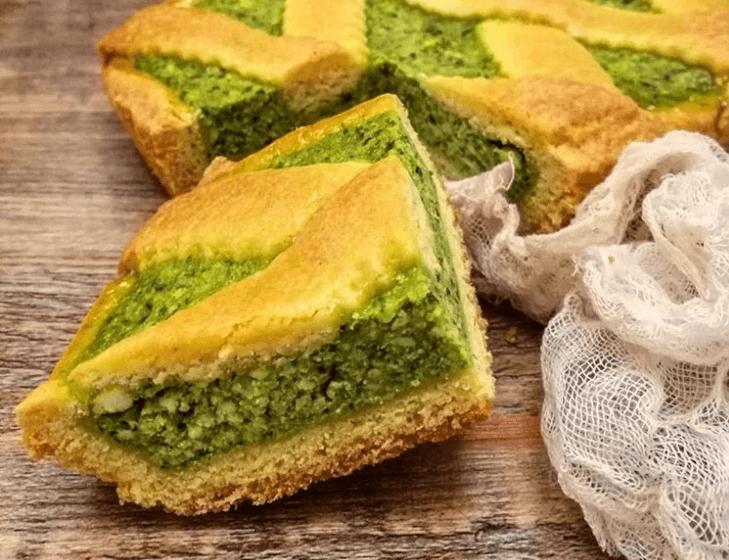 Ricetta Torta Erbazzone.Erbazzone Dolce Sweet Spinach Cake La Mora Romagnola